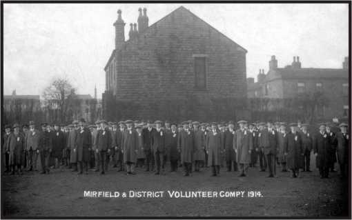 Mirfield WW1 Volunteers